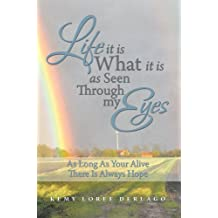 LIFE IT IS WHAT IT IS AS SEEN THROUGH MY EYES: As Long As Your Alive There Is Always Hope