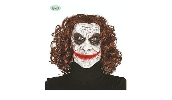Máscara de Payaso Asesino | Antifaz Joker | Mascarilla Arlequín Malvado | Careta Payaso Psicópata: Amazon.es: Juguetes y juegos