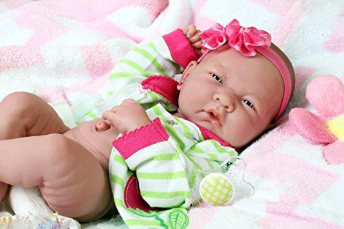 "My Pretty cute girl realistic ANATOMICALLY CORRECT Preemie Berenguer Newborn Reborn 14"" inches Doll Beautiful accessories washable"