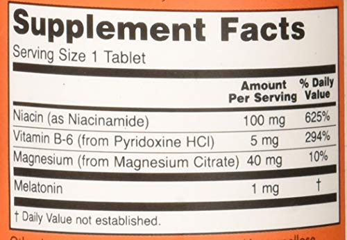 Now Foods - MELATONIN NOW 1mg - 100 tabs: Amazon.es: Alimentación y bebidas