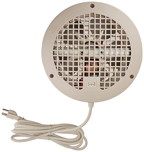 Suncourt ThruWall 2-Speed Room To Room Fan for Indoor Air Ventilation -