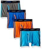 Hanes Boys' X-Temp Breathable Mesh Boxer Brief 4-Pack, Assorted, Small
