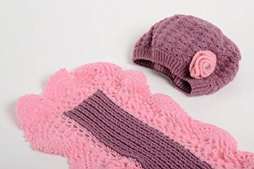Gorro tejido a mano bufanda artesanales accesorios para mujer ...