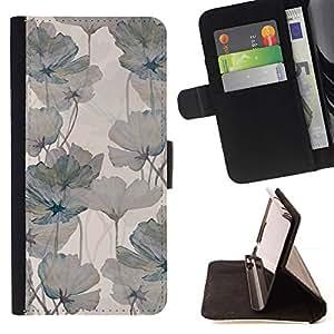 Grey Begonia Floral Design - Modelo colorido cuero de la carpeta del tirón del caso cubierta piel Holster Funda protecció Para MOTOROLA MOTO X PLAY XT1562