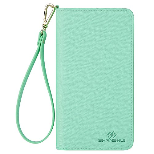 Wristlet SHANSHUI Wallet Samsung L Green