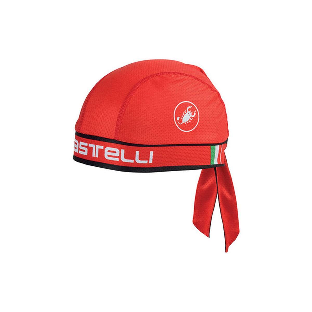 Castelli Bandana Red, One Size