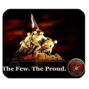 Custom US Marine Corps High Quality Printing Rectangle Mouse Pad Design Your Own Computer Mousepad