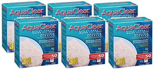 Aquaclear 50-gallon Ammonia Remover 18 Total Filters (6 Packs with 3 Filters per Pack)