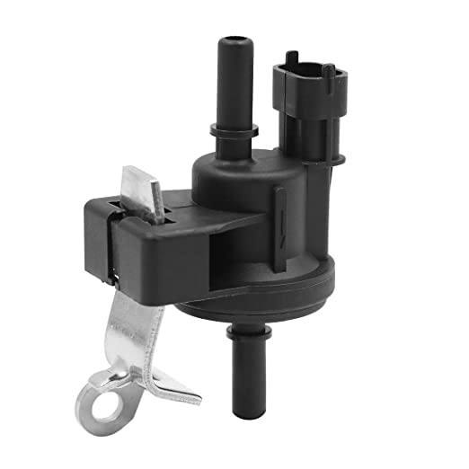 X AUTOHAUX DC 12V Purge Solenoid Valve Steam Tank Cleaning Control Valve for 2006-2011 Cadillac