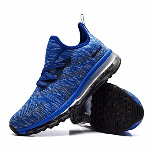 Sneakers Women's Lightweight Running 8 Fashion Shoe Air Blue 5 M Cushion Moonwalker US D Athletic tCqww1