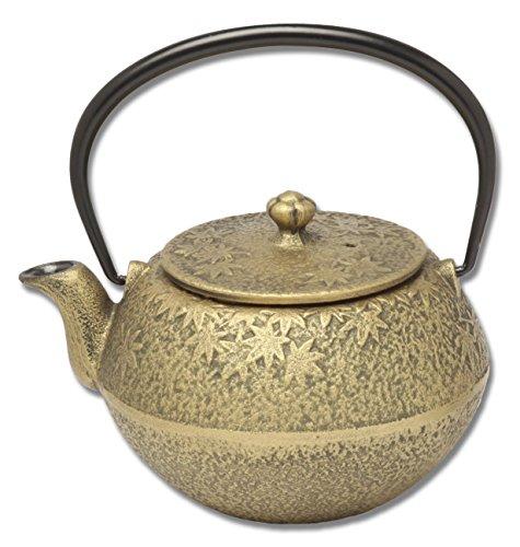 Joyce Chen Teapot (Joyce Chen 90-0054 Maple Maroni Gold 22-Ounce Tetsubin)