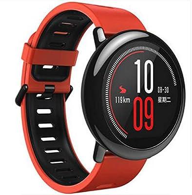 Woodln Smartwatch Recambio Muñeca Reemplazo Correa para Pebble Time Fitness Activity Tracker/ Pebble Time Steel / Asus Zenwatch 1st 2nd / Moto 360 2nd ...