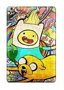 Ipad Mini/mini 2 Finn And Jake Cartoon Print High Quality Tpu Gel Frame Case Cover