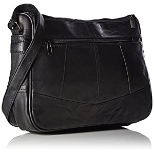 Lorenz Leather Handbag # 1968 – Black