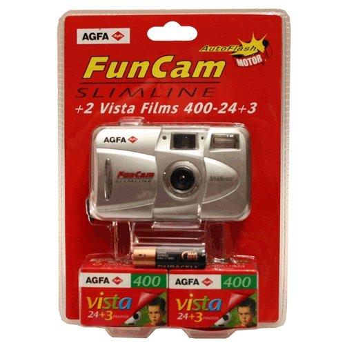 Camara Fotografica Agfa Ek-23 Motor Flash Automatico
