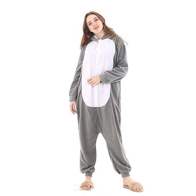 Pijama Cosplay Disfraz Adulto Unisex Animal Pijamas Pijama Mono ...