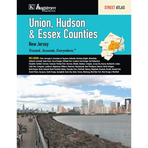 Union, Hudson & Essex Counties, NJ Street Atlas