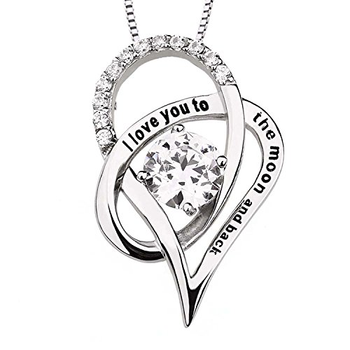 Sterling Silver Zirconia Necklace Pendant product image