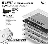 Face Mask Mesh with Activated Carbon Filters Dust