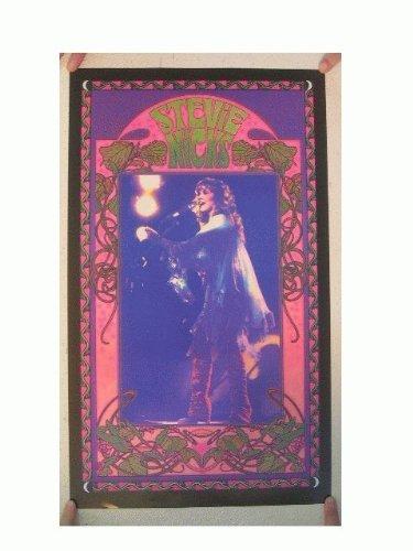 Stevie Nicks Offset Poster Fleetwood Mac Bob Masse Concert Shot