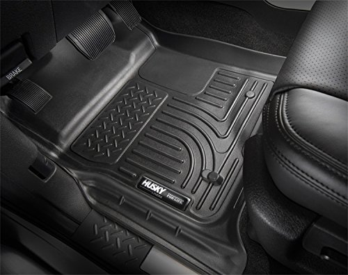Husky Liners Front & 2nd Seat Floor Liners Fits 16-17 Durango/ Grand Cherokee (Nature Car Floor Mats compare prices)