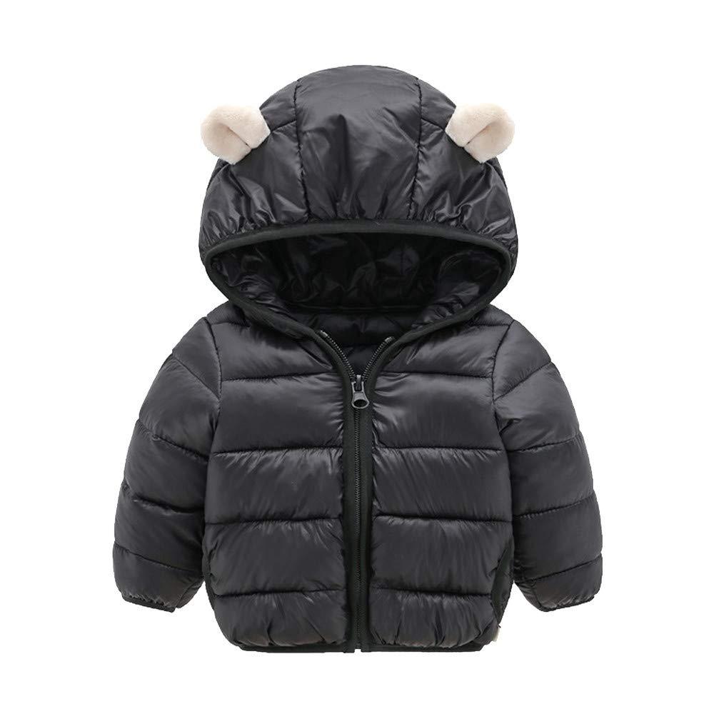 Bambino Ragazzo, Chlidren Ragazzi Inverno Caldo Cappotti Giacca Ragazzo Cerniera di Spessore Felpa con Cappuccio Cappotti Abiti 23.96