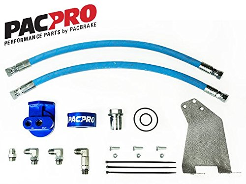 Pacbrake PacPro Remote Oil Filter Relocation Kit HP10305