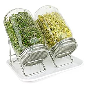 Amazon Com Pure Convenience Deluxe Sprouting System