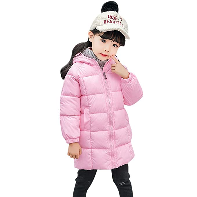 Hawkimin_Babybekleidung - Pantalón Impermeable - Abajo - Manga Larga - para bebé niño Rosa 130 cm
