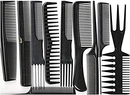 Annie Professional Comb Set 10Ct Black Annie International Inc. (Beauty)