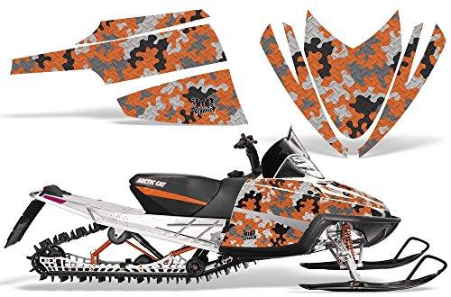 All M8 M7 Arctic Cat M Series Crossfire AMRRACING ATV Graphics Decal Kit-Camo ()