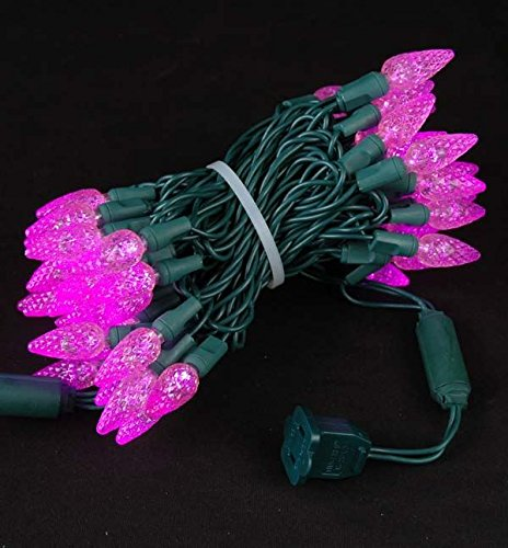 Pink Led Christmas Lights Outdoor - 4