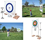 Sports, Outdoors, Backyard Games and Multiple Sports Training, Accuracy & Proficiency Training Net Target Stand, Perfect-o-play, Sports N Party Fun, Waddlers Brand