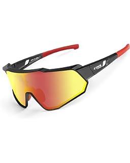 Amazon.com: Gafas de sol deportivas polarizadas de GIEADUN ...