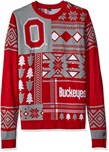Ncaa Patches Ugly Sweater Pick Team Amazonin Sports Fitness