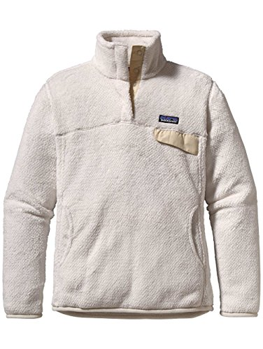 Patagonia Women's Re-Tool Snap-T Pullover Raw Linen/White Crossdye X-Large