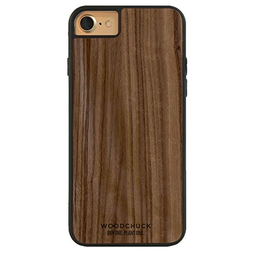 WOODCHUCK Walnut Wood iPhone Case (8/7/6s/6) - Premium Handmade Cover