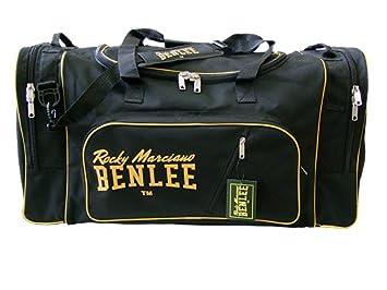 9d8f430845 BENLEE Rocky Marciano Sac de Sport Grand Format, Schwarz/Gelb (Noir ...