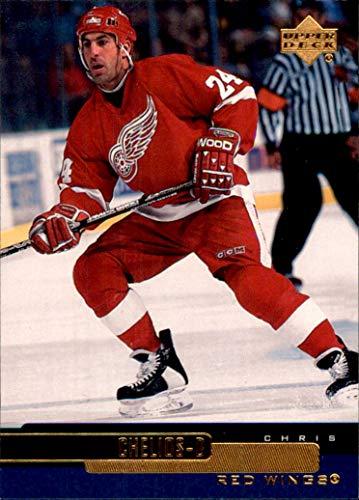 1999-00 Upper Deck #223 Chris Chelios DETROIT RED WINGS (Red Chelios Wings Chris)