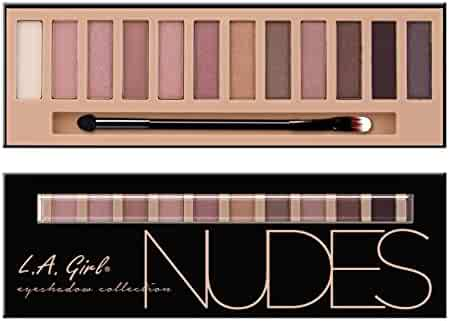 L.A. Girl Beauty Brick Eyeshadow, Nudes, 0.42 Ounce
