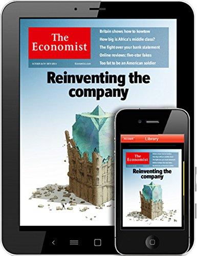 Economist Magazine - The Economist - Digital Edition - Magazine Subscription from MagazineLine (Save 64%)