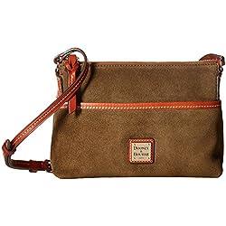 Dooney & Bourke Suede Ginger Crossbody Shoulder Bag
