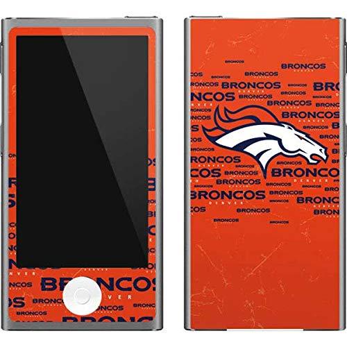 - Skinit NFL Denver Broncos iPod Nano (7th Gen&2012) Skin - Denver Broncos Orange Blast Design - Ultra Thin, Lightweight Vinyl Decal Protection