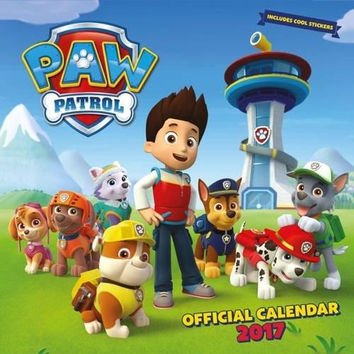 Paw Patrol Official 2017 Square Calendar  Calendar 2017