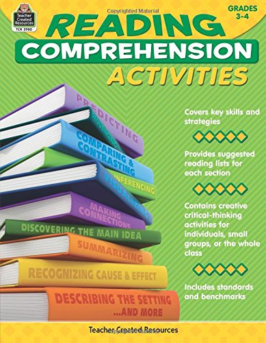 Reading Comprehension Activities Grade 3-4 PDF