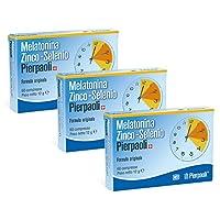 Dr. Pierpaoli - 3 CONFEZIONI- Melatonina Zinco-Selenio Pierpaoli 1mg - 60 cpr