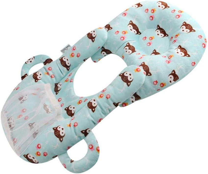 Xincheng Baby Nursing Pillow Baby Bottle Holder Support Infant Cushion Baby Self Feeding Cotton Pillow Baby Head Shaping Sitting Learning Pillow Detachable Breastfeeding Pillowcase