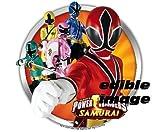 12 -Power Rangers Edible Cupcake Toppers