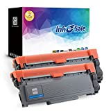 #1: INK E-SALE Compatible Brother High Yield TN630 TN660 Toner Cartridge Black for Brother MFC-L2700DW HL-L2340DW HL-L2300D HL-L2380DW DCP-L2540DW DCP-L2520DW MFC-L2740DW MFC-L2720DW Printer (2-Pack)