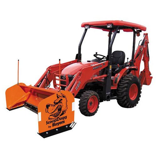 Buyers Products 2604110 Compact Tractor Snow Pusher 10' Wide by Buyers Products